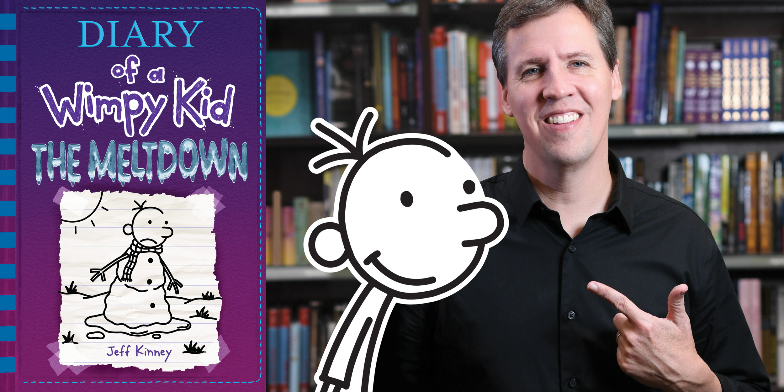 Wimpy Kid Live The Meltdown Show With Jeff Kinney Kids Out And About Albany