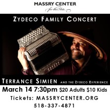 Terrance Simien - Zydeco at the College of St. Rose
