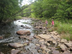 Hiking at Trout River, Malone, NY