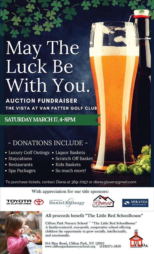 May The Luck Be With You Auction Fundraiser