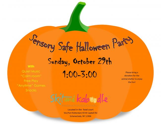 Sensory Safe Halloween Party | Kids Out and About Albany