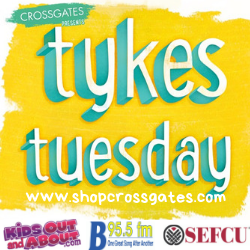 Image result for tykes tuesday crossgates mall