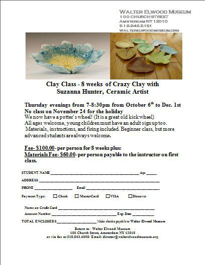Clay Class 8 Weeks Of Crazy Clay With Suzanna Hunter Ceramic