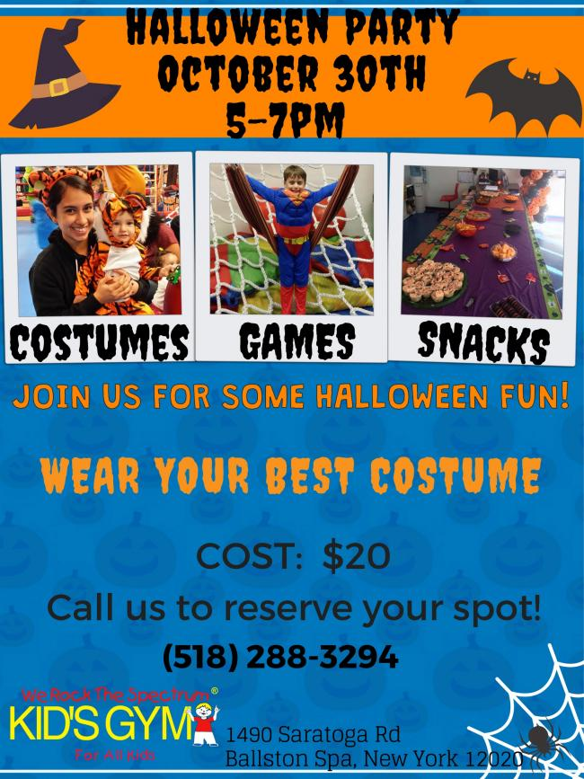 Halloween Party | Kids Out and About Albany