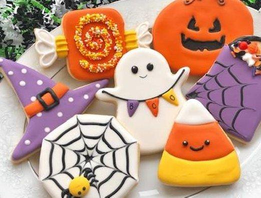 Beginner Halloween Cookie Decorating Class Kids Out And